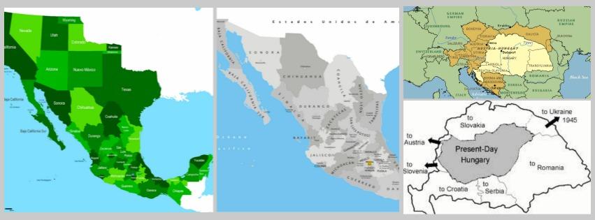 mapas M&H comparados